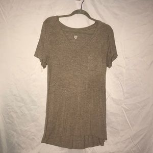 Long pocket t shirt